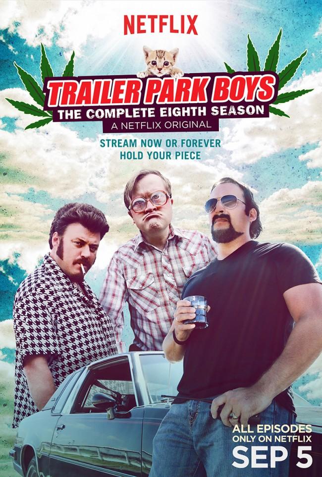 trailer park boys season 8 poster tin