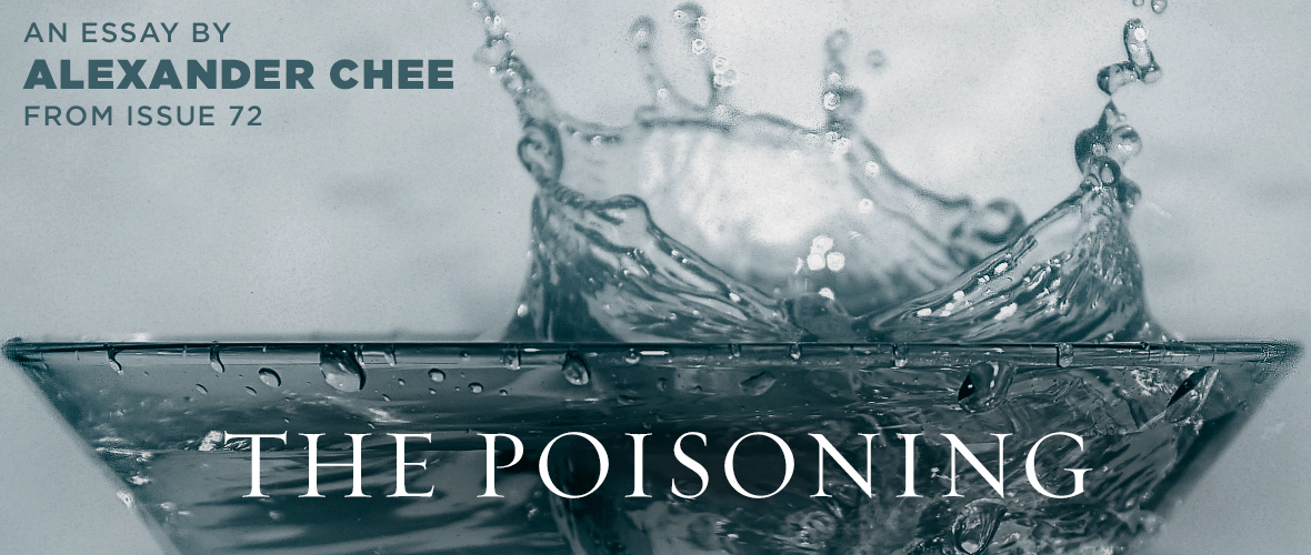 The Poisoning  Tin House Sign Up For Our Newsletter