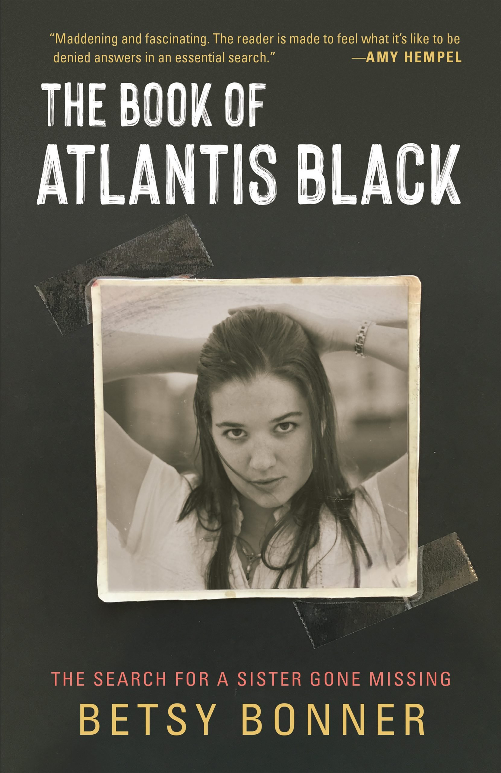 Book cover for The Book of Atlantis Black.