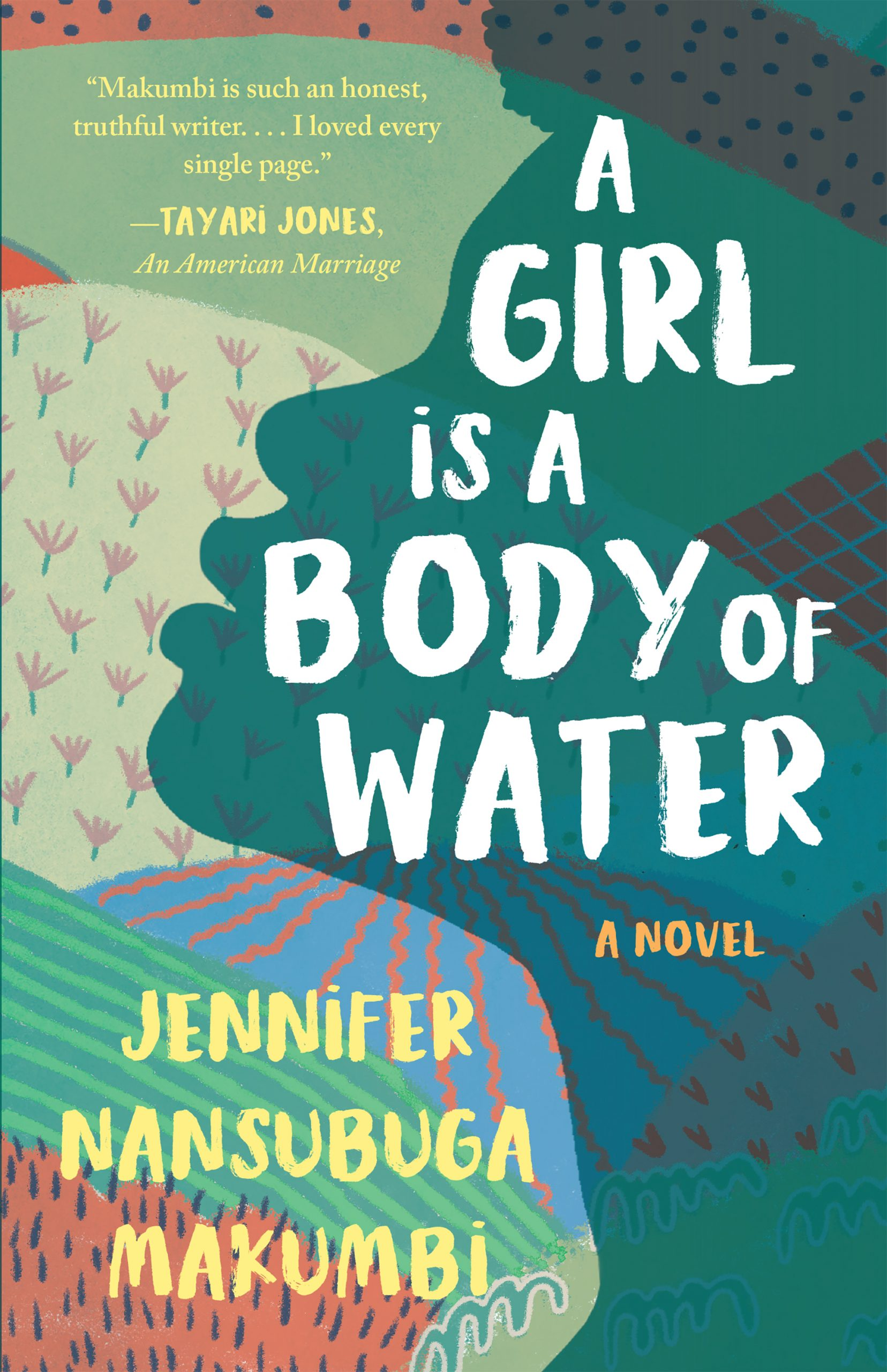 Book cover for A Girl is a Body of Water.